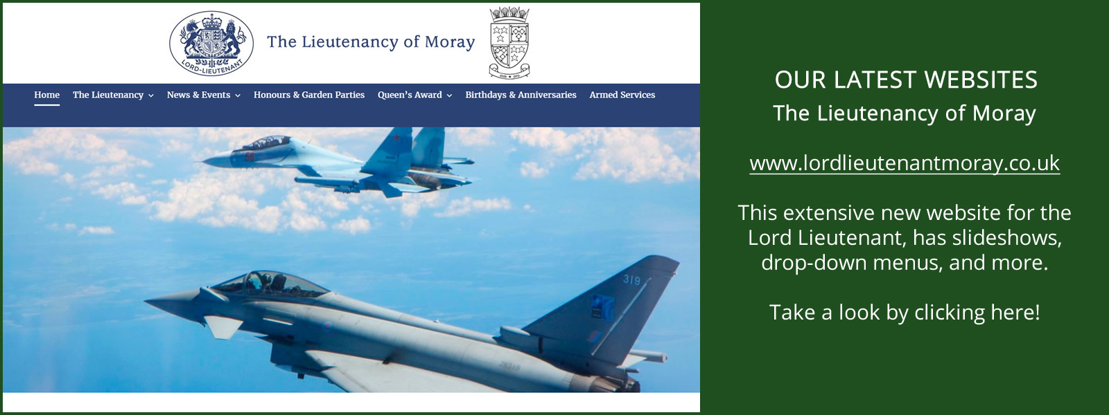 Click Here to Visit The Lieutenancy of Moray