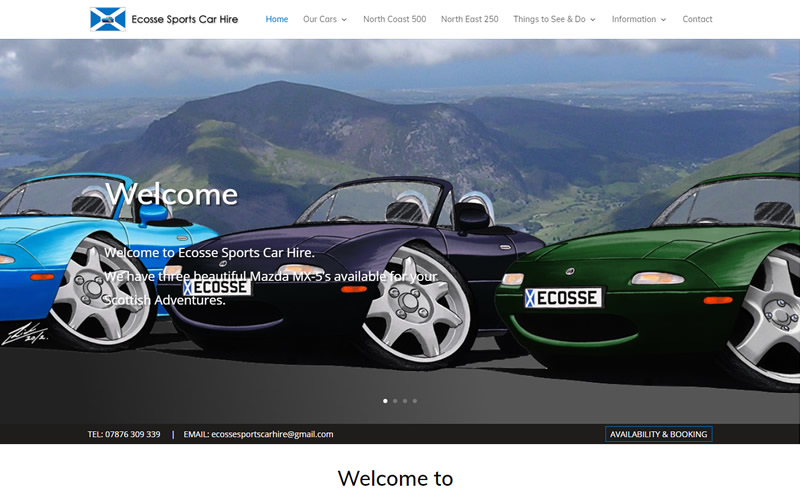 Ecosse Sports Car Hire