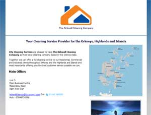 The Kirkwall Cleaning Company - Cleaning Service Provider for the Orkneys, Highlands and Islands