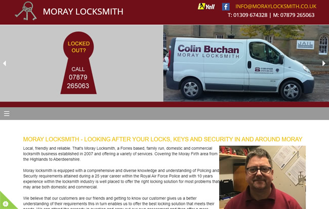 Colin Buchan Moray Locksmith