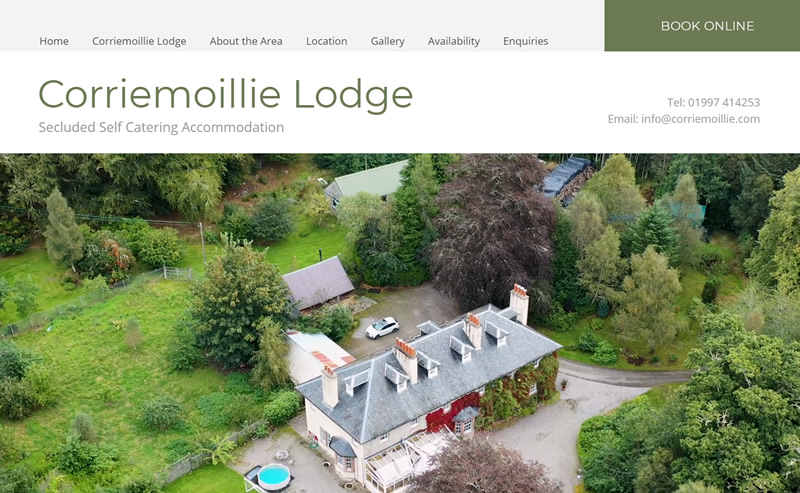 Corriemoillie Lodge