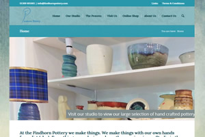 Findhorn Pottery, Moray